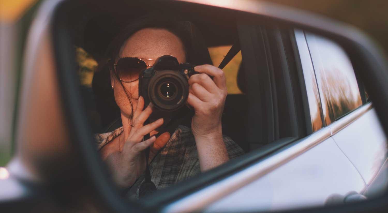 Erinnerungen sammeln bei einem Roadtrip mit dem ViveLaCar Auto-Abo.