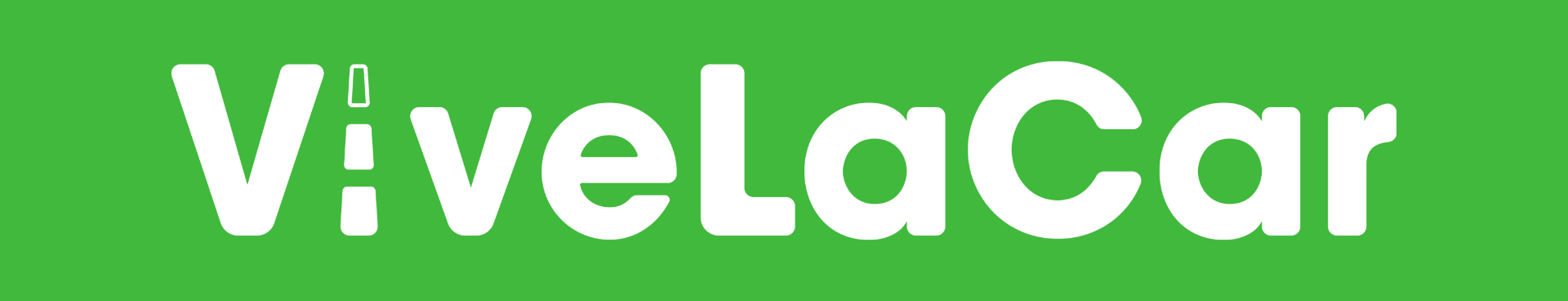 Vivelacar Logo Green Background