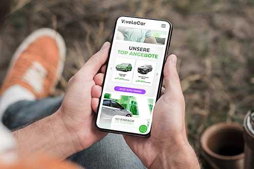 ViveLaCar launcht APP und neuen Auftritt!